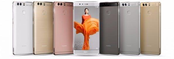 Das Huawei P9 wird nicht in allen Farben nach Deutschland kommen. (Bild: Huawei)