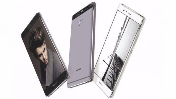 Das Huawei P9 in verschiedenen Farben. (Bild: Huawei)