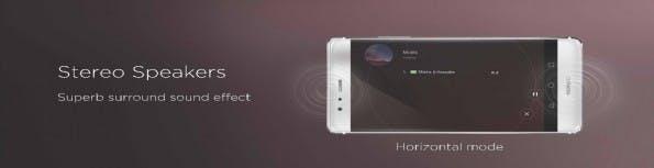 Das P9 Plus kommt mit Stereosound daher. (Bild: Huawei)