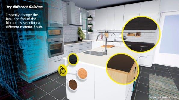 Die virtuelle Realität kommt in die Ikea-Küche. (Foto: Inter IKEA Systems B.V. 2016)