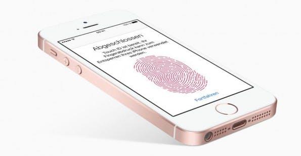 Auch Touch ID gehört zu den Features des neuen iPhones. (Bild: Apple)