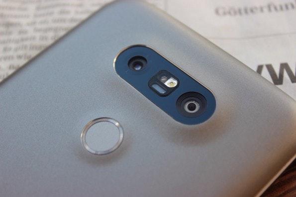 Einzigartig auf dem Smartphone-Markt: die Weitwinkelkamera des LG G5. (Foto: t3n)