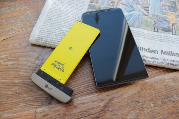 Das LG G5 wird mit Sicherheit bald Android 7.0 Nougat erhalten. (Foto: t3n)