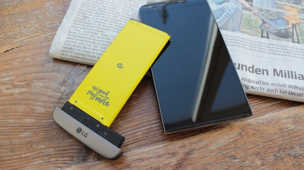 LG G5 im Test: Performantes High-End-Smartphone hat kaum Freunde