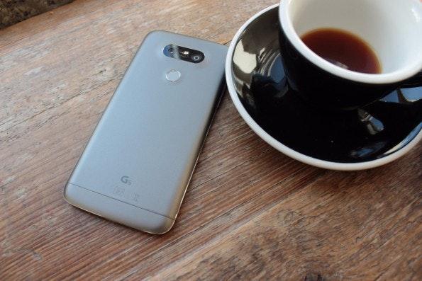 LG G5 Test. (Foto: t3n)