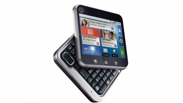 Mutiges Design ohne Erfolg: Das Motorola Flip out. (Bild: Motorola)