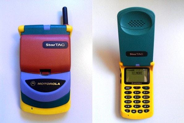 Motorola Startac Rainbow. (Foto: Redfield-1982)
