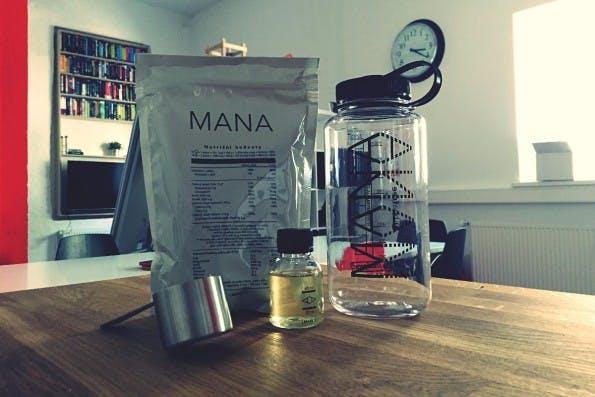 Mana ist der einzige Anbieter von Flüssignahrung aus Tschechien im Test. (Foto: t3n)