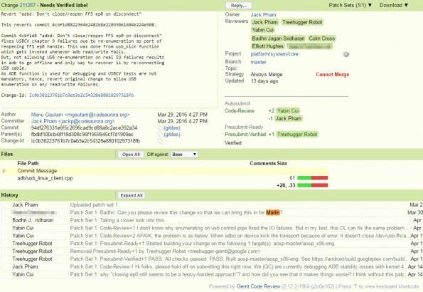 Vom Marlin ist schon im AOSP-Forum die Rede. (Screenshot: Android Police)