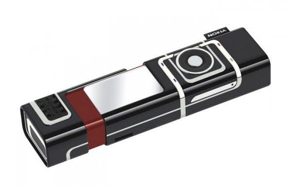 Irgendwie schön, aber unpraktisch Nokias 7280. (Bild: Nokia)