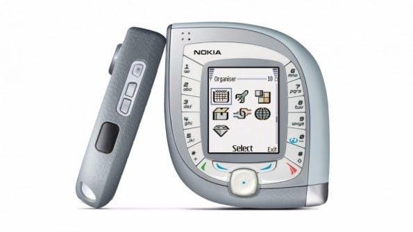 Nokias 7600 war schon besonders... (Bild: Nokia)