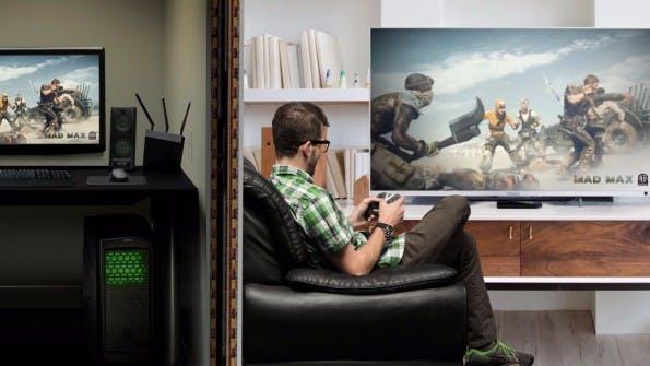 AAA-Gaming-Titel lassen sich auf der NVIDIA Android Shield TV auch spielen. (Bild: Nvidia)