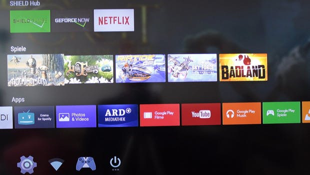 Nvidia Shield Android TV. (Foto: t3n)