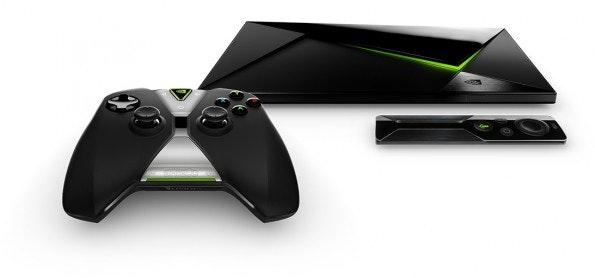 Nvidia Shield Android TV – die kleine Fernbedienung kostet extra. (Foto: t3n)