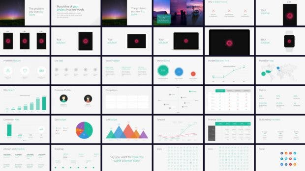 9 Großartige Pitchdeck Vorlagen Für Dein Startup T3n Digital