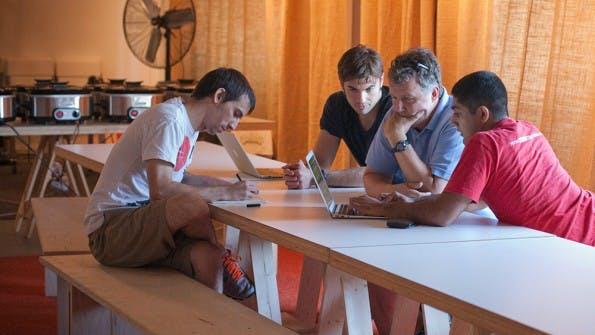 Die Startup-Schmeide Y Combinator aus dem Silicon Valley brachte Firmen wie Dropbox oder Airbnb hervor. Davon will auch Protonet profitieren. (Foto: Y Combinator)