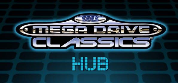 """""""Mega Drive Classics Hub"""": Sega vereint Spieleklassiker unter einer 3D-Oberfläche. (Grafik: Sega)"""