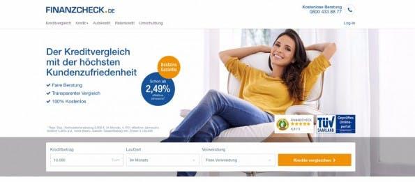 Startup-News: Finanzcheck sichert sich 33 Millionen Euro.