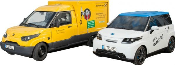 StreetScooter: Deutsche Post baut Elektroautos für die Paketzustellung. (Bild: Deutsche Post)