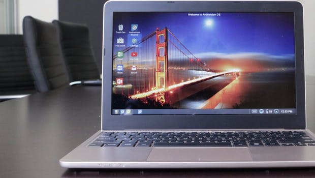 Superbook verwandelt euer Android-Smartphone in ein Notebook. (Foto: Superbook)