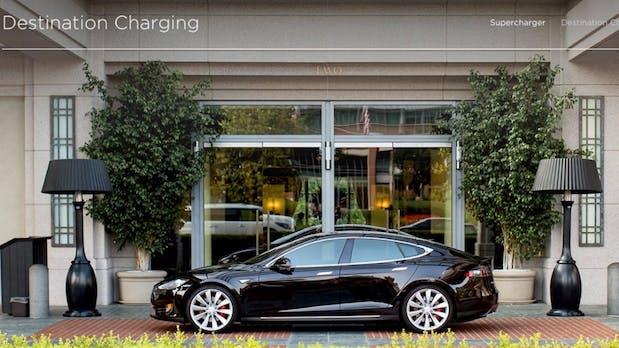 Tesla Model S und X: Destination-Charging kommt in Europa in Fahrt