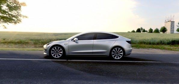 Der das Folgemodell des Tesla Model 3 soll günstiger sein. (Foto: Tesla)