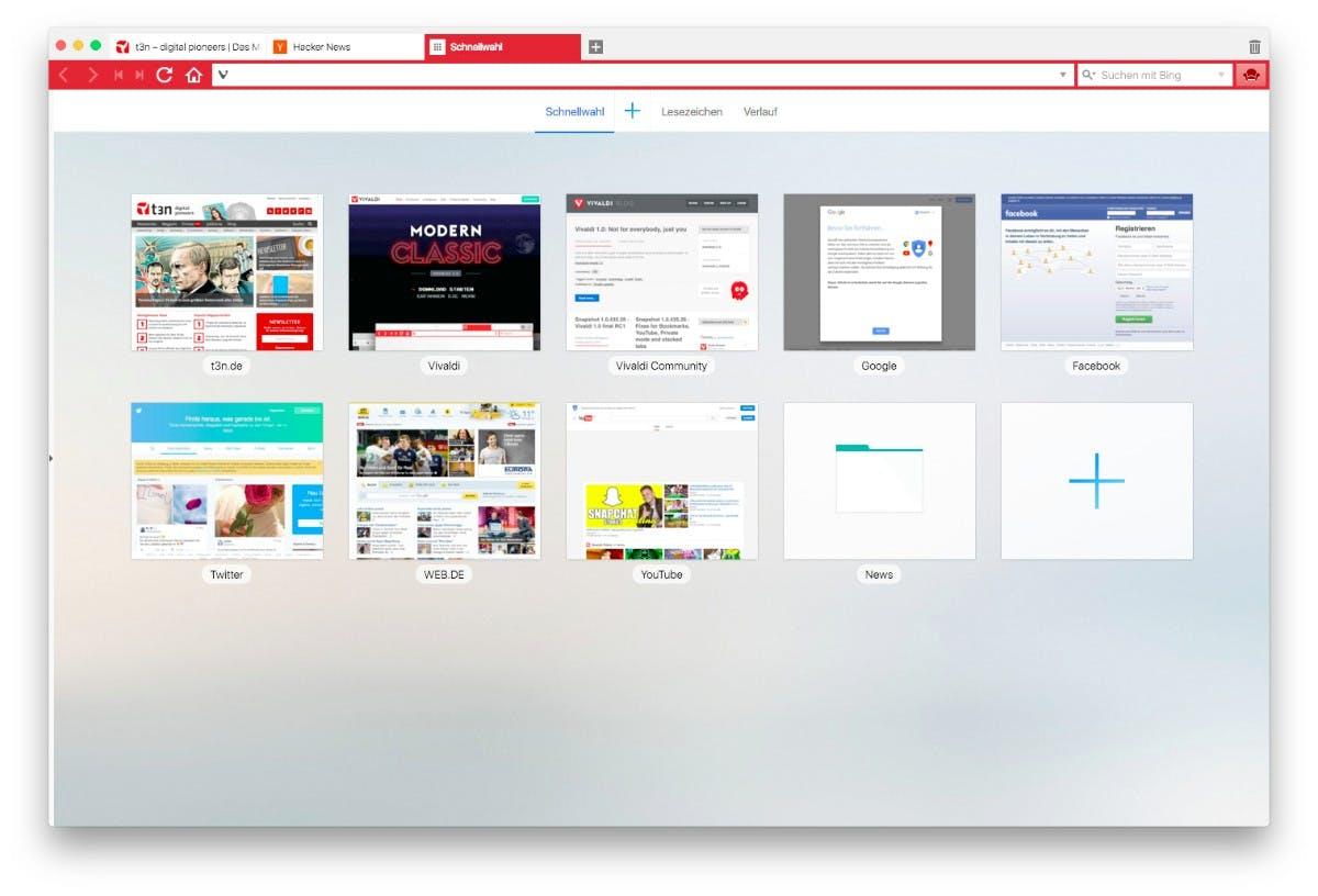 Vivaldi 1.0 steht zum Download bereit. (Screenshot: Vivaldi)