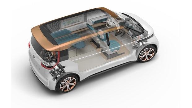 VW Budd-e. (Bild: VW)