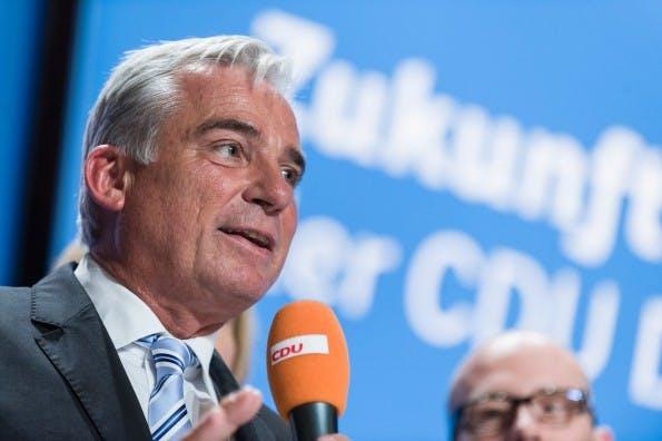 Über die Startup-Politik in Baden-Württemberg entscheidet künftig CDU-ler Thomas Strobl. Ein Mann, denkbar ungeeignet für die Aufgabe. (Foto; Thomas Strobl/Facebook)