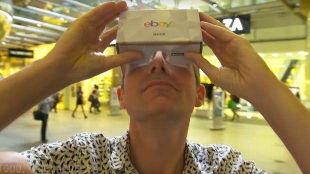 Shoppen in der virtuellen Realität: eBay eröffnet ersten VR-Store