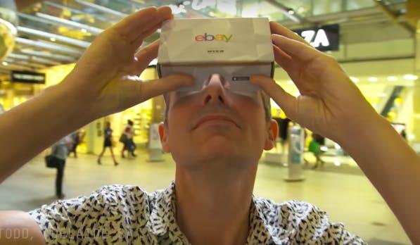 98908320b30 Shoppen in der virtuellen Realität  eBay eröffnet ersten VR-Store
