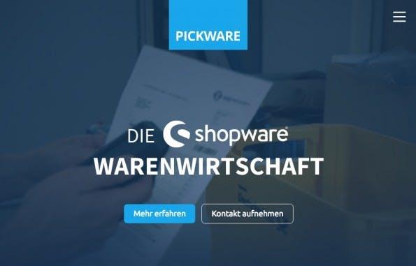(Screenshot: Pickware)