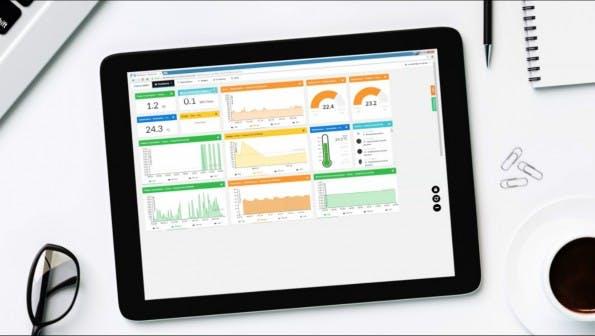 Online-Plattform Conrad Connect soll vernetzte Geräte steuern. (Screenshot: Conrad Connect)