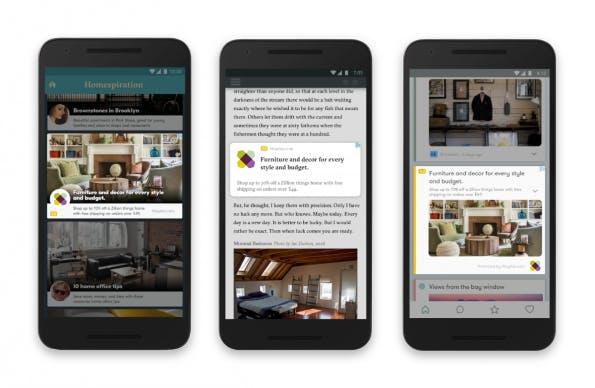Diese nativen Werbeformate fügt Google dem Adwords-Netzwerk hinzu (Bild: Google)