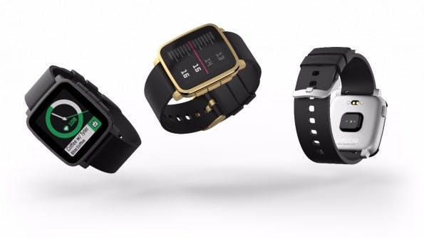 Pebble Time 2 ist der Nachfolger der Time- und Time-Steel-Modelle und weiterhin in drei Farben erhältlich. (Quelle: pebble.com)