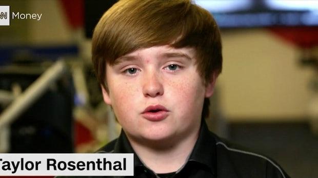 Dieser 14-jährige Startup-Gründer schlug ein 30-Millionen-Dollar-Angebot aus