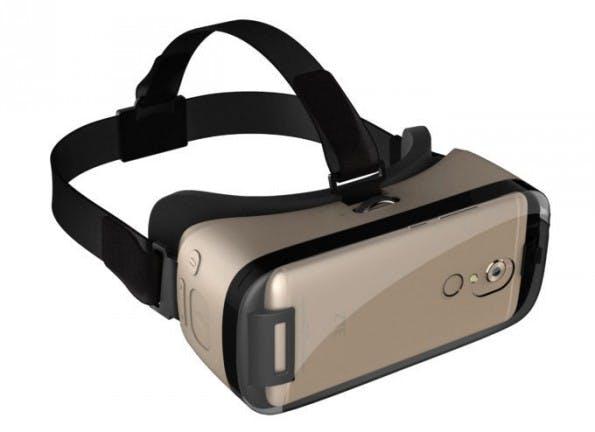 ZTE hat für sein Axon 7 ein VR-Headset im Programm. (Bild: ZTE)