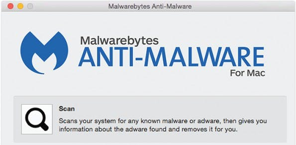 OS X: Dieses Tool durchsucht euren Mac nach Adware und anderer Schadsoftware. (Screenshot: Malwarebytes)
