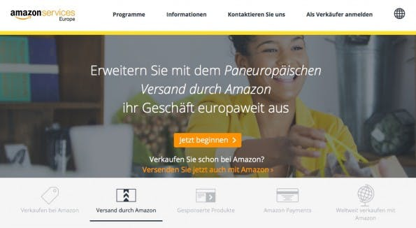 (Screenshot: Amazon Services)
