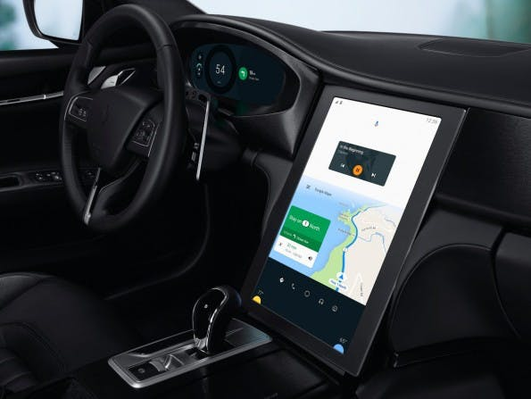 Maserati Ghibli mit Android Auto. (Foto: Google)