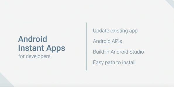Android Instant Apps sollen noch 2016 verfügbar sein. (Screenshot: youtube.com)