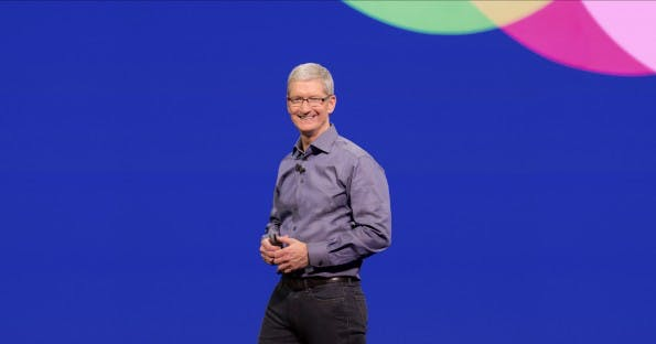 Apple-Chef Tim Cook (Foto:Marco Prati/Shutterstock)