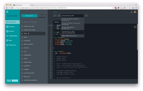 Arduino Create: Web-Entwicklungsumgebung jetzt in öffentlicher Beta-Phase