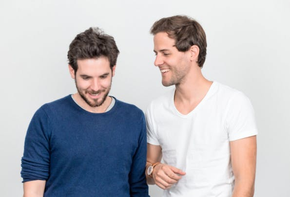 Die beiden Gründer Frederic Böert und Vincent Brass erreichten ihre Investoren über bestehende Kontakte und konnten sie so im lockeren Gespräch von ihrer Idee überzeugen. (Foto: Muun)