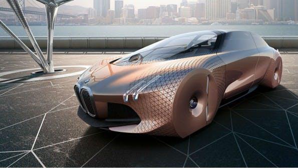 """Mit der Initiative """"Next 100"""" gibt BMW einen Einblick in das Auto der Zukunft. (Bild: BMW)"""