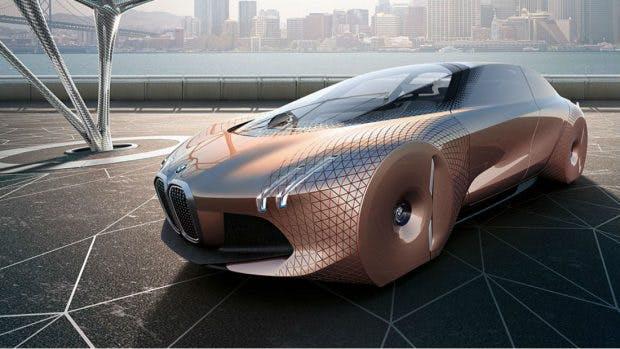 """Mit der Initiative """"Next 100"""" gibt BMW einen Ausblick auf das Auto der Zukunft. (Bild: BMW)"""