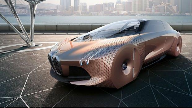 """""""iNext"""": BMW kündigt sein selbstfahrendes Elektroauto für 2021 an"""