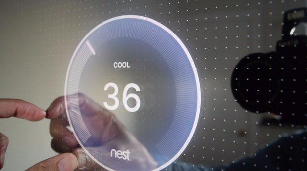 Clear: Entwickler baut Smart Mirror mit Apps und Touchbedienung