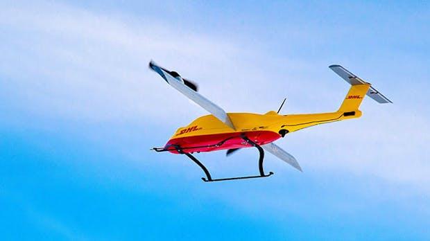 DHL meistert letzte Meile: Privatkunden verschicken Pakete erstmals per Paket-Drohne