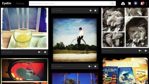 The Roll ist kostenlos. eyeEm selbst hofft, dass die App dabei behilflich ist, dass noch mehr Nutzer Fotos zum Verkauf auf dem Marktplatz von eyeEm anbieten. (Screenshot: eyeEm)